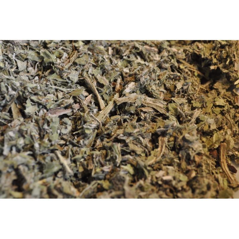 Foglie secche in taglio tisana di carciofo